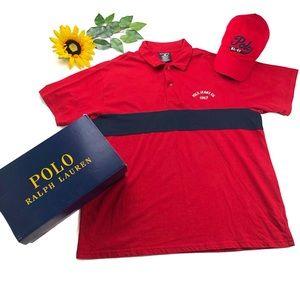 POLO Ralph Lauren 2 button collard shirt spell out
